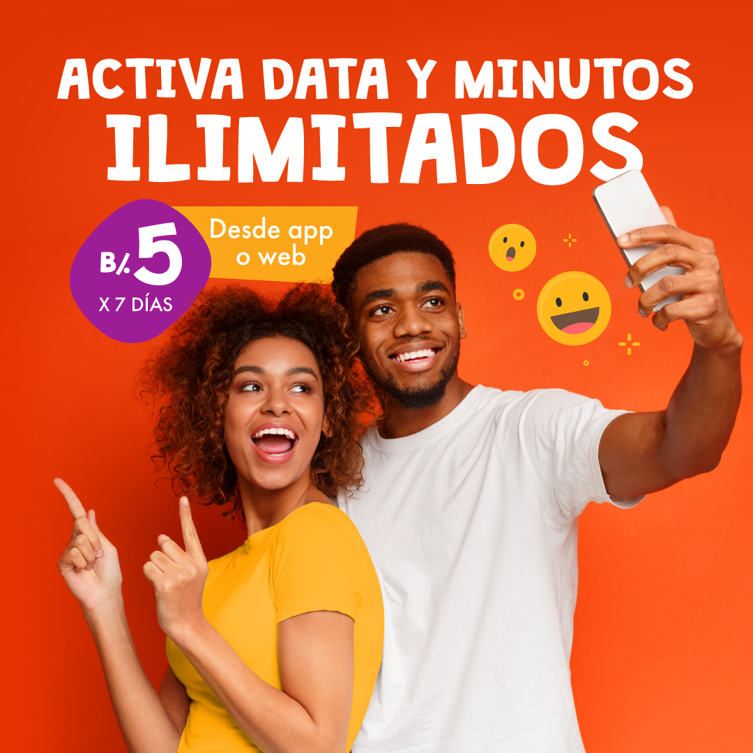 DATA Y MINUTOS ILIMITADOS